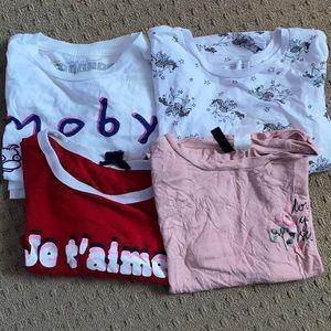 Graphic t-shirt bundle